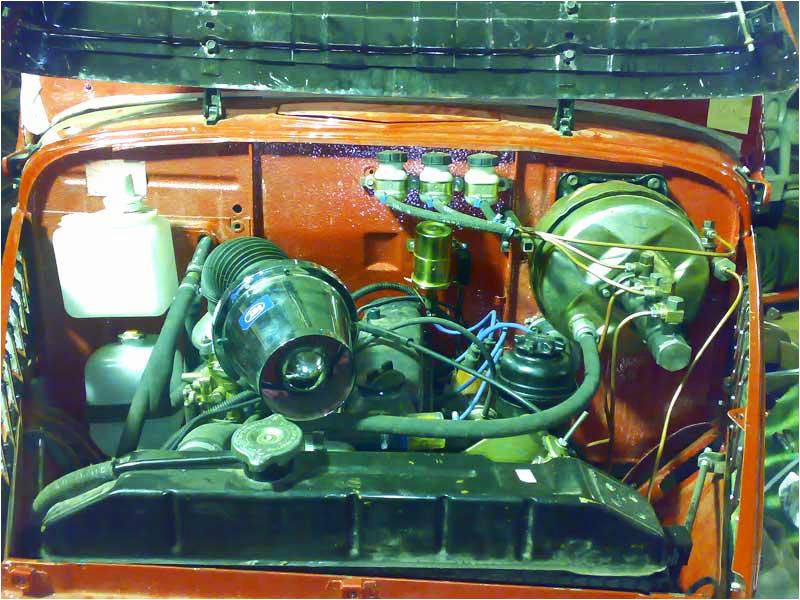 Тюнинг Газ-69: Установка двигателя от