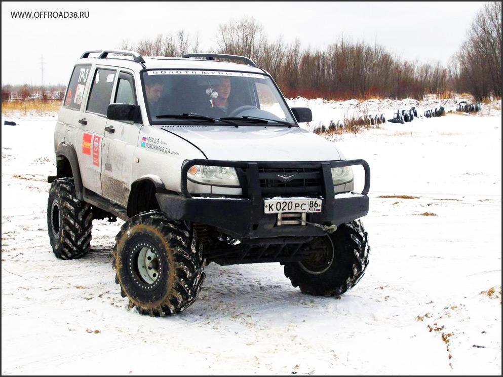 УАЗ Патриот на фБел-160м