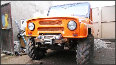 Тюнинг УАЗ-469