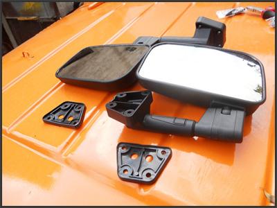 Тюнинг УАЗ-469: Установка новых зеркал