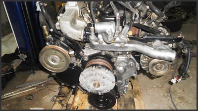 Установка мотора TD-27t на УАЗ-469