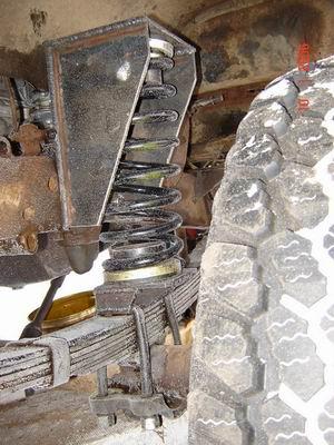 Лифт подвески УАЗ: Подпружинивание рессор